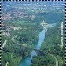 Sellos: ESLOVENIA 2001 - SLOVENIE - MILENARIO DE SOLKAN - YVERT Nº 317**. Lote 160089466