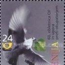 Sellos: ESLOVENIA 2001 - SLOVENIE - 60º ANIVERSARIO DE LA RESISTENCIA - YVERT Nº 327**. Lote 160094118