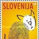 Sellos: ESLOVENIA 2001 - SLOVENIE - DIA DE LOS ANIMALES - YVERT Nº 337**. Lote 160095446