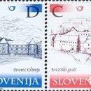 Sellos: ESLOVENIA 2001 - SLOVENIE - CASTILLOS - YVERT Nº 338-341**. Lote 160097566