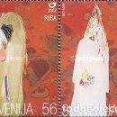 Sellos: ESLOVENIA 2002 - SLOVENIE - FOLCKLORE - MASCARAS - YVERT Nº 348-349**. Lote 160099394