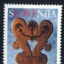 Sellos: ESLOVENIA 2002 - SLOVENIE - AMOR - YVERT Nº 350**. Lote 160099726