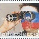 Sellos: ESLOVENIA 2002 - SLOVENIE - COPA DEL MUNDO DE FUTBOL COREA Y JAPON - YVERT Nº 369**. Lote 160142962