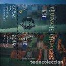 Sellos: ESLOVENIA 2002 - SLOVENIE - OLIMPIADA DE AJEDREZ EN BLED - YVERT BLOCK Nº 15**. Lote 160145594