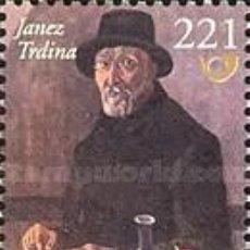 Sellos: ESLOVENIA 2005 - SLOVENIE - JANEZ TRDINA - LITERATURA - YVERT Nº 457**. Lote 161279278