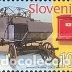 Sellos: ESLOVENIA 2005 - SLOVENIE - COCHE DE CORREOS - YVERT Nº 470**. Lote 161281106