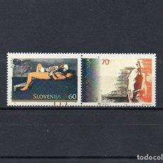 Sellos: ESLOVENIA 1995 YVERT 104-05, MNH-SC. Lote 48614577