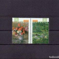 Sellos: ESLOVENIA 1996, YVERT 134-35, MNH-SC. Lote 48614593