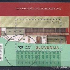 Sellos: ESLOVENIA 2019 - CASAS RURALES EN ESLOVENIA - SELLOS NUEVOS TIMBRADO DE FAVOR (VALOR FACIAL). Lote 184733121