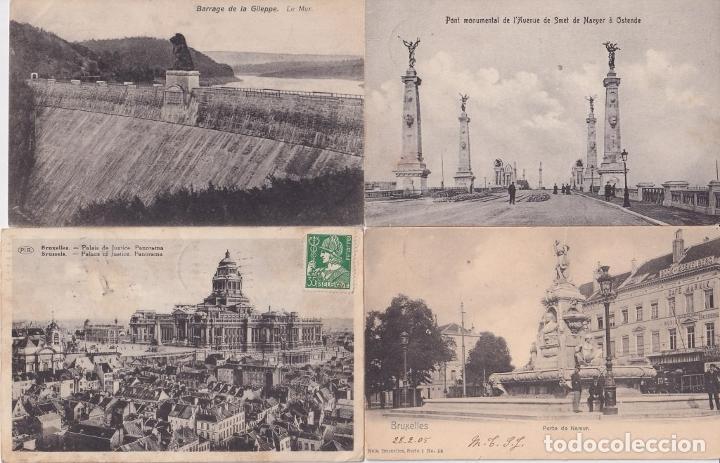 Sellos: F-EX15950 FRANCE 6 POSTAGE DUE POSTCARD BELGIUM BELGIQUE BELGIE. - Foto 2 - 193697332