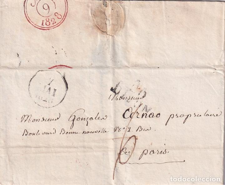 Sellos: F-EX15955 FRANCE FRANCIA S.XIX STAMPLESS COVER LOT . - Foto 2 - 193697347
