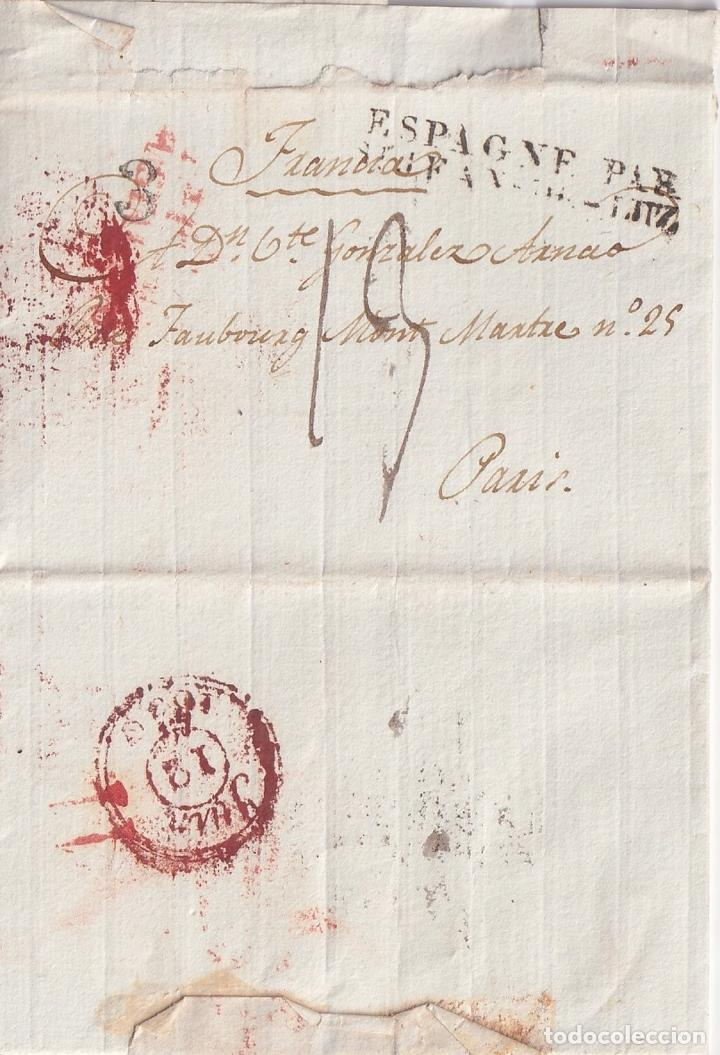 Sellos: F-EX15955 FRANCE FRANCIA S.XIX STAMPLESS COVER LOT . - Foto 6 - 193697347