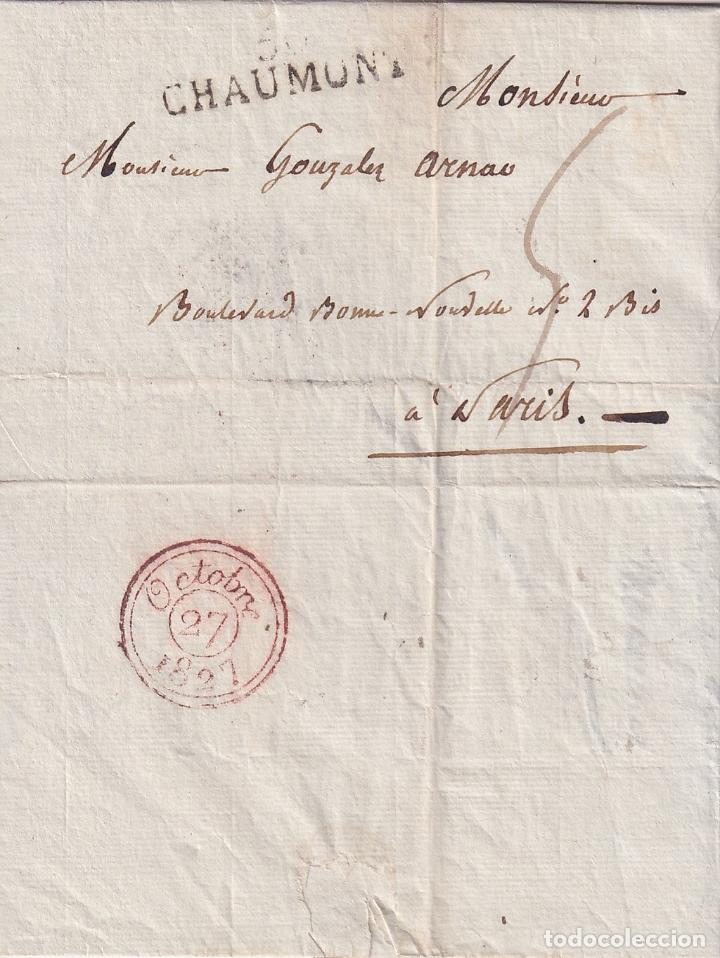 Sellos: F-EX15955 FRANCE FRANCIA S.XIX STAMPLESS COVER LOT . - Foto 8 - 193697347