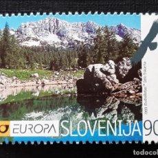Sellos: ESLOVENIA, **, EUROPA 1999, FAUNA. Lote 196605875