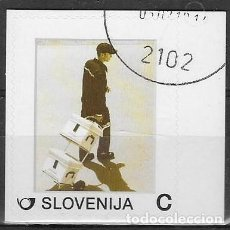 Sellos: SELLO USADO DE ESLOVENIA, FOTO ORIGINAL. Lote 197640296