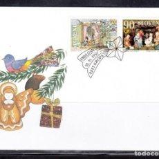 Sellos: ESLOVENIA 1997 - SPD - FDC NAVIDAD Y AÑO NUEVO - YVERT Nº 197/198. Lote 199145836