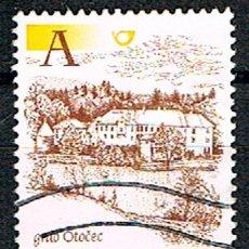 Sellos: ESLOVENIA Nº 313, CASA FUERTE DE PTUJ, USADO. Lote 200637286