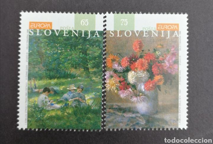 ESLOVENIA, EUROPA CEPT 1996 MNH, MUJERES CÉLEBRES (FOTOGRAFÍA REAL) (Sellos - Extranjero - Europa - Eslovenia)