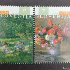 Sellos: ESLOVENIA, EUROPA CEPT 1996 MNH, MUJERES CÉLEBRES (FOTOGRAFÍA REAL). Lote 203426120