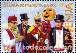 SELLO USADO DE ESLOVENIA YT 639 (Sellos - Extranjero - Europa - Eslovenia)