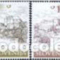 Sellos: SELLOS USADOS DE ESLOVENIA YT 277/ 80. Lote 205133022