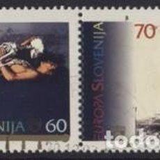 Sellos: SELLOS USADOS DE ESLOVENIA YT 104/ 05. Lote 205133632