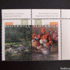 Timbres: ESLOVENIA YVERT 134/5 SERIE COMPLETA USADA. EUROPA 1996. MUJERES CÉLEBRES.. Lote 212091050