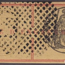 Sellos: F-EX16992 FRANCE REVENUE S.XIX TAXE D´ENGAGEMENT EMBOSSED. Lote 216529486