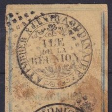 Sellos: F-EX16943 REUNION FRANCE REVENUE STAMP.. Lote 216529502