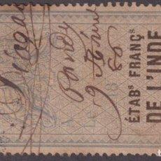Sellos: F-EX17044 FRANCE L´INDE REVENUE INDIA. Lote 216529512
