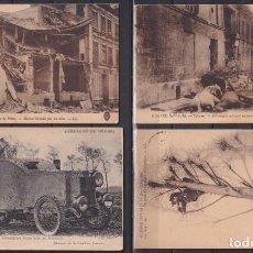 Sellos: F-EX19182 FRANCE FRANCIA 1914- 1915 POSTCARD WWI SOISSONS REIMS TO HAVANA.. Lote 226974745