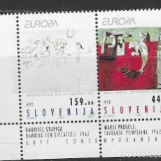 Sellos: SELLOS NUEVOS DE ESLOVENIA, YT 46/ 47, FOTO ORIGINAL. Lote 234749220