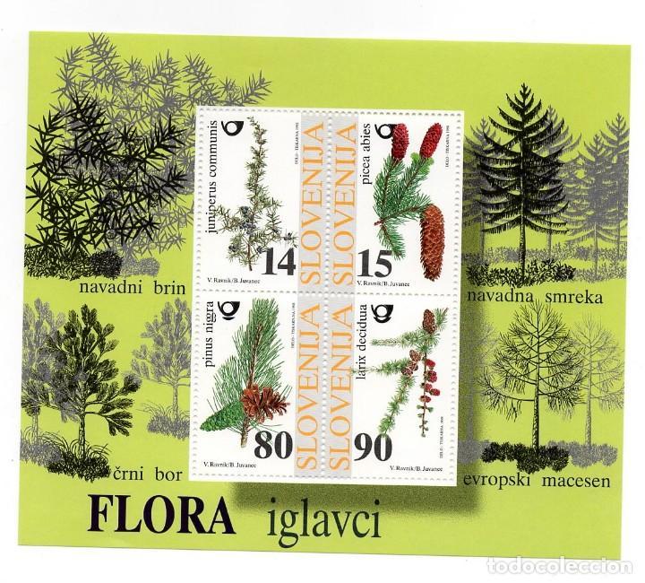 ESLOVENIA / SLOVENIJA - FLORA / ARBOLES - AÑO 1998 - 1 HB NUEVA Y PERFECTA (Sellos - Extranjero - Europa - Eslovenia)
