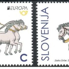 Timbres: SLOVENIA 2020 - EUROPA 2020 STAMP SET MNH. Lote 247199310
