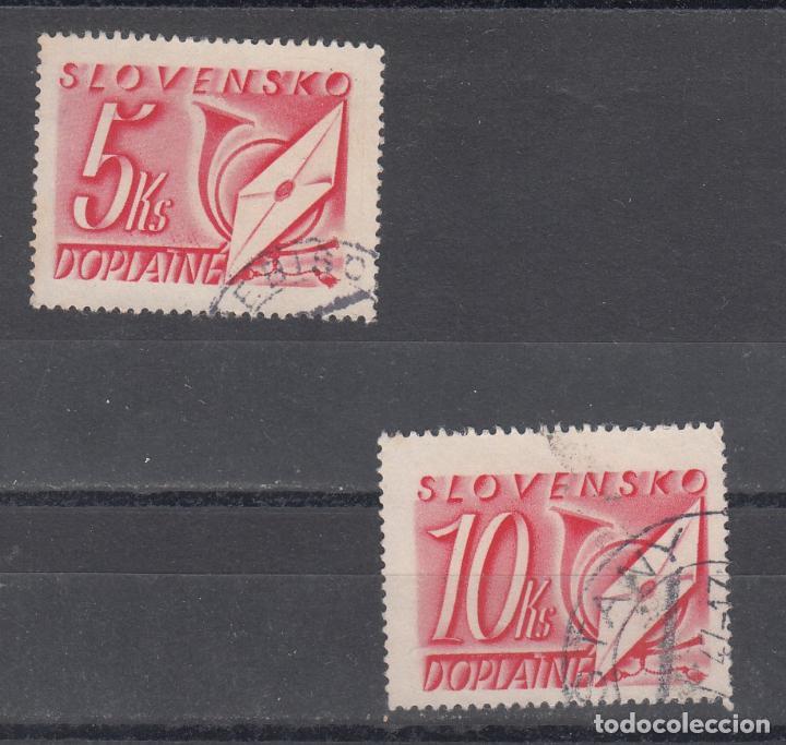 ESLOVAQUIA TASA, 39/40 USADA, (Sellos - Extranjero - Europa - Eslovenia)