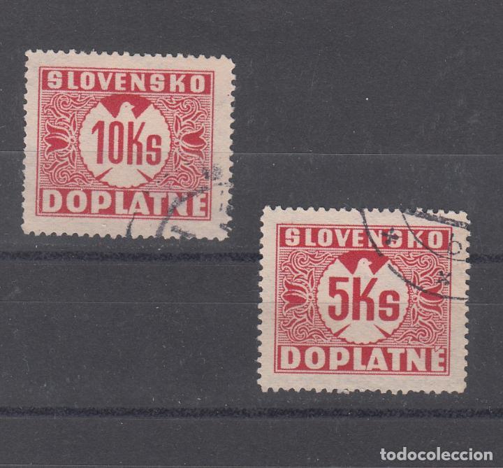 ESLOVAQUIA TASA, 10/1 USADA, (Sellos - Extranjero - Europa - Eslovenia)