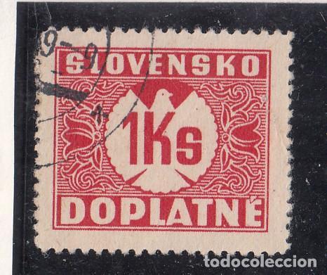 ESLOVAQUIA TASA, 8 USADA, (Sellos - Extranjero - Europa - Eslovenia)