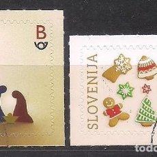 Sellos: ESLOVENIA 2020 - NAVIDAD - NOEL - CHRISTMAS - SPECIMEN (VALOR FACIAL). Lote 253713505