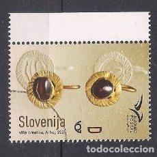 Timbres: ESLOVENIA 2021 - EUROMED - JOYAS - SPECIMEN (VALOR FACIAL). Lote 278280253