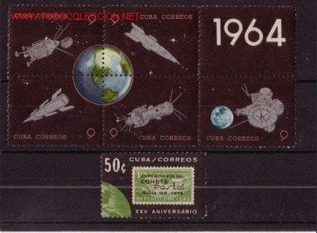 CUBA 738/63** - AÑO 1964 - CONQUISTA DEL ESPACIO (Sellos - Temáticas - Conquista del Espacio)