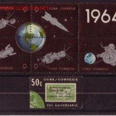 Sellos: CUBA 738/63** - AÑO 1964 - CONQUISTA DEL ESPACIO. Lote 23674987