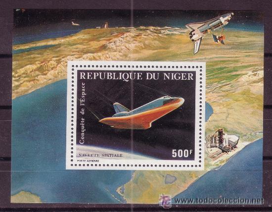 NIGER HB 33** - AÑO 1981 - CONQUISTA DEL ESPACIO - NAVE ESPACIAL (Sellos - Temáticas - Conquista del Espacio)