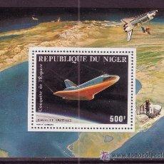 Sellos: NIGER HB 33** - AÑO 1981 - CONQUISTA DEL ESPACIO - NAVE ESPACIAL. Lote 20260211