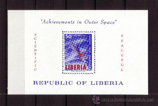LIBERIA HB 30*** - AÑO 1964 - CONQUISTA DEL ESPACIO (Sellos - Temáticas - Conquista del Espacio)