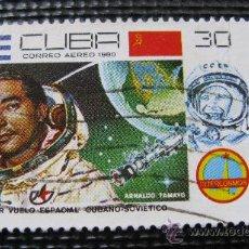 Sellos: 1980 CUBA,PRIMER VUELO ESPACIAL CUBANO-SOVIETICO. Lote 29324931