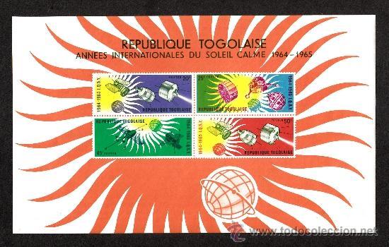 TOGO HB 13** - AÑO 1964 - AÑO INTERNACIONAL DE CALMA SOLAR (Sellos - Temáticas - Conquista del Espacio)