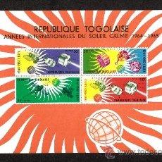 Sellos: TOGO HB 13** - AÑO 1964 - AÑO INTERNACIONAL DE CALMA SOLAR. Lote 38640292