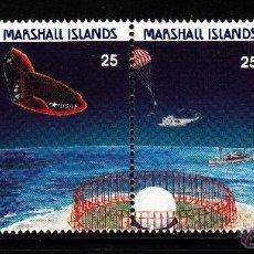 Sellos: MARSHALL 212/15** - AÑO 1988 - CONQUISTA DEL ESPACIO - PROGRAMA ESPACIAL DE ESTADOS UNIDOS. Lote 41929069