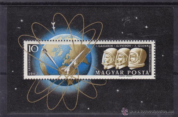 HUNGRIA 1962 HB IVERT 40 *** CONQUISTA DEL ESPACIO - ASTRONAUTAS (Sellos - Temáticas - Conquista del Espacio)