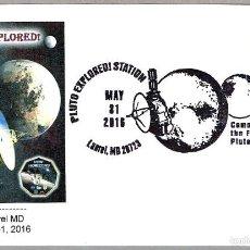 Sellos: ESPLORACION DE PLUTON - SONDA NEW HORIZONS. LAUREL MD 2016. Lote 58329406